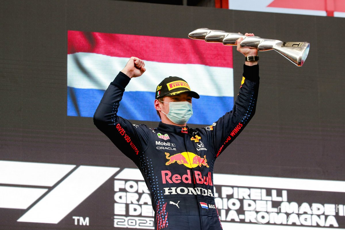 Max Verstappen, Red Bull Racing, 1°posto