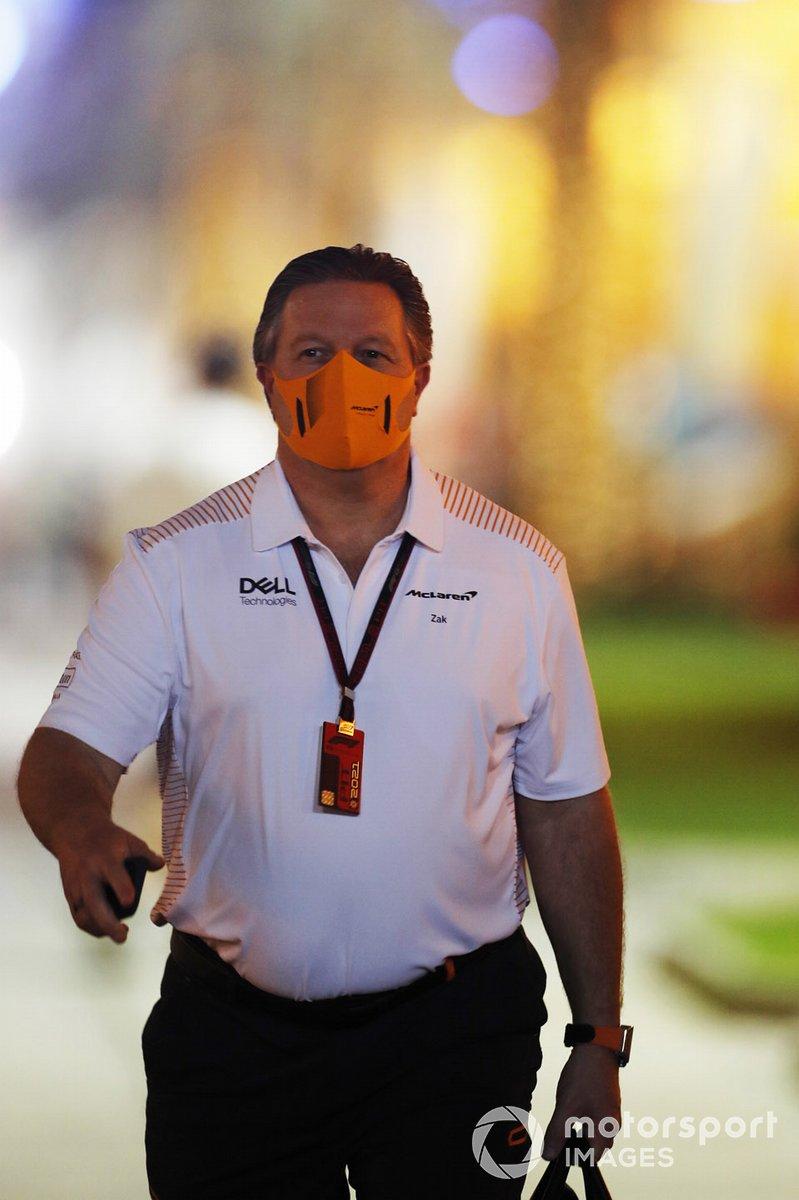 Zak Brown, director general de McLaren Racing