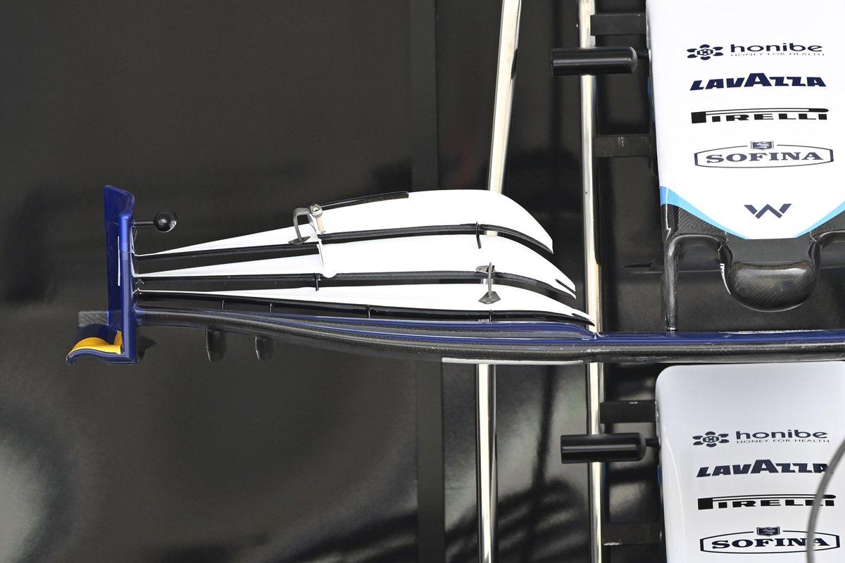 Alerón frontal del Williams FW43B