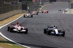 Kazuki Nakajima, Williams Toyota, Takuma Sato, Super Aguri SA07