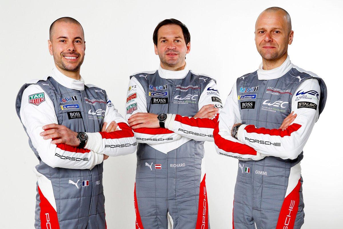 Frédéric Makowiecki, Richard Lietz, Gianmaria Bruni, Porsche GT Team