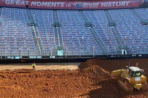 Dirt track at Bristol