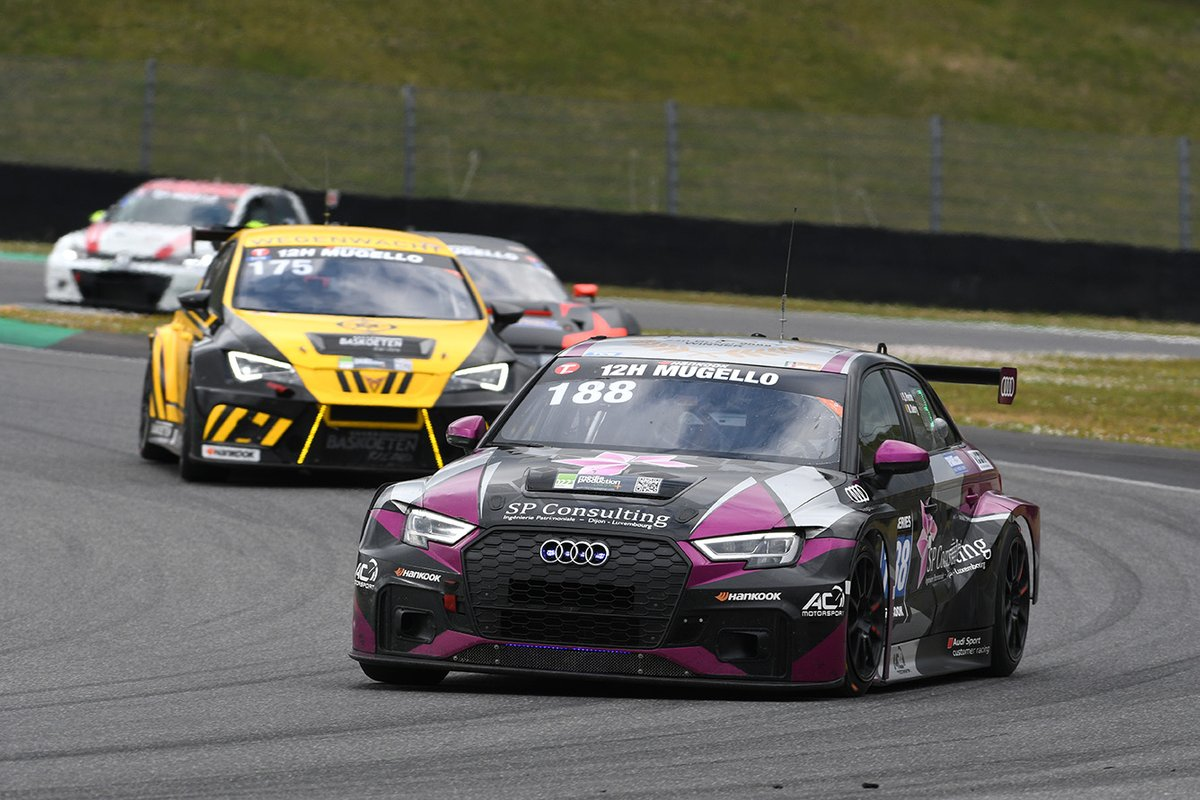 #188 AC Motorsport: Stephane Perrin, Mathieu Detry, Audi RS 3 LMS DSG