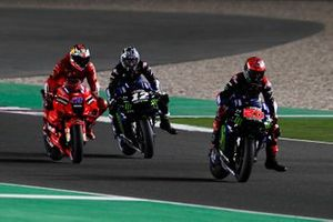 Fabio Quartararo, Yamaha Factory Racing, Maverick Vinales, Yamaha Factory Racing, Jack Miller, Ducati Team
