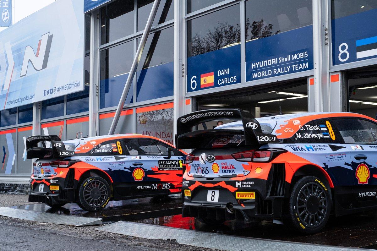 Dani Sordo, Borja Rozada, Hyundai Motorsport Hyundai i20 Coupe WRC, Ott Tänak, Martin Järveoja, Hyundai Motorsport Hyundai i20 Coupe WRC