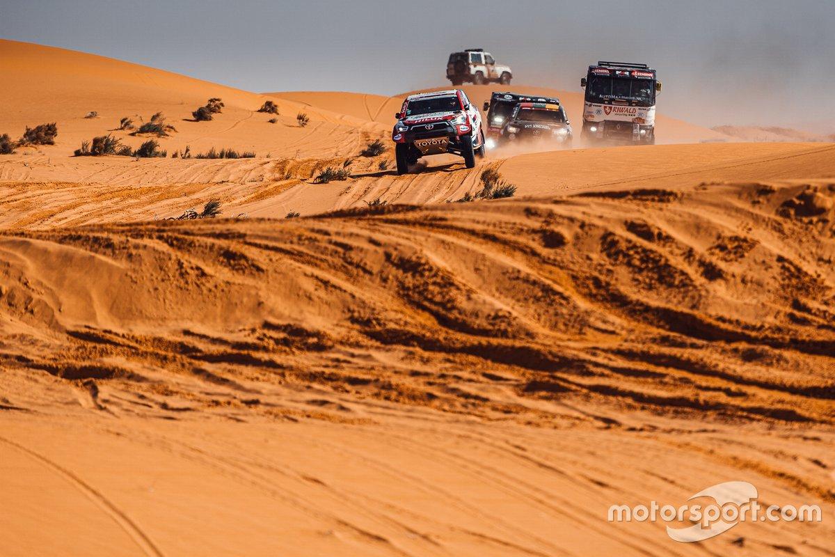Ambiente de la etapa 6 del Dakar 2021