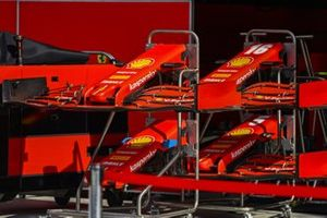 Ferrari nosecones and front wings