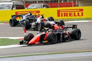 Giuliano Alesi, MP Motorsport and Nikita Mazepin, Hitech Grand Prix