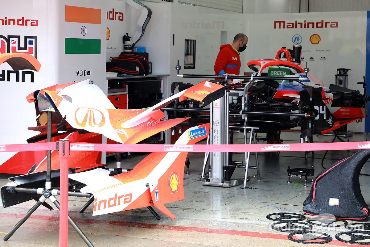 Mahindra Racing garage