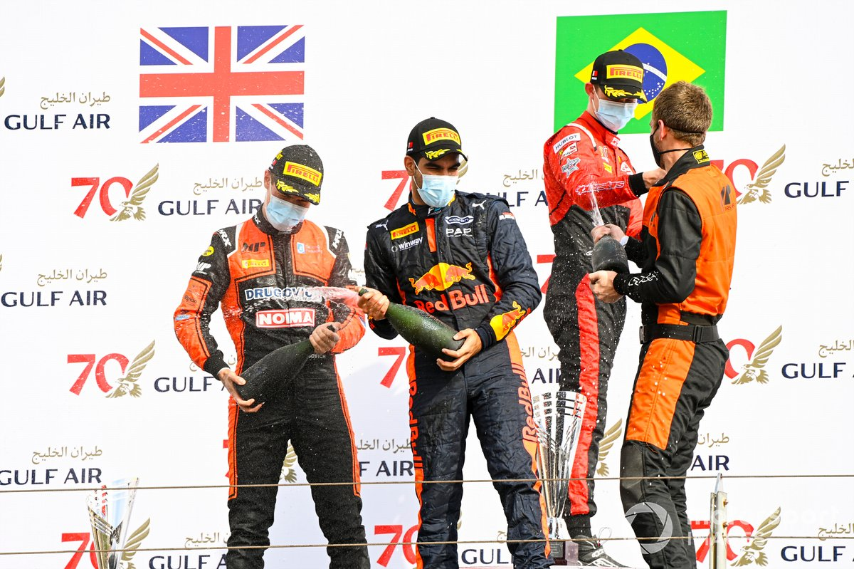 Drugovich, MP Motorsport, Jehan Daruvala, Carlin y Callum Ilott, UNI-Virtuosi