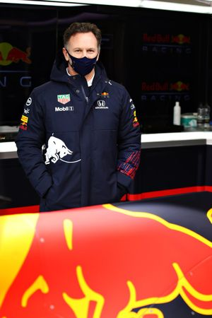 Red Bull Racing Team Principal Christian Horner