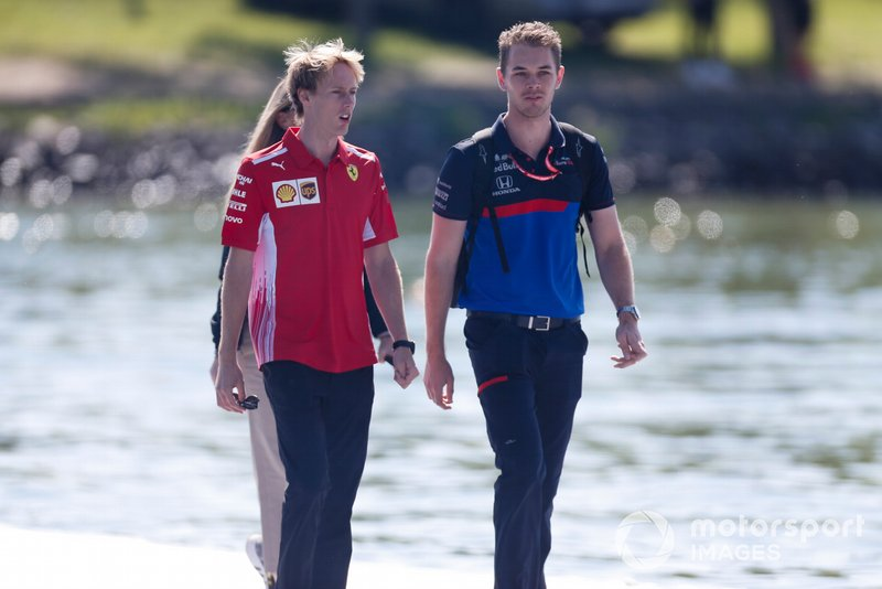 Brendon Hartley, piloto de desarrollo de Ferrari
