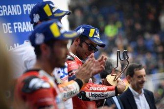 Podium: Danilo Petrucci, Ducati Team