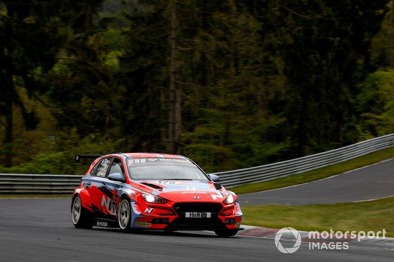 #170 Hyundai Motorsport N Hyundai i30 N TCR: Manuel Lauck, Peter Terting, Andreas Gülden