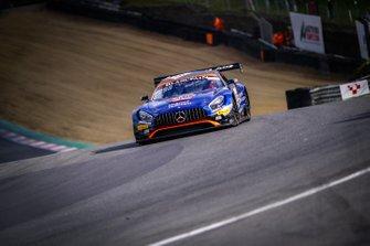#90 Akka ASP Team FRA Mercedes-AMG GT3: Timur Bogulavskiy, Fabian Schiller