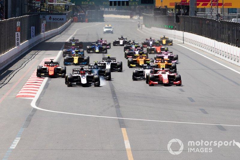 Start der Formel 2 2019 in Baku