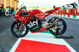 Decoración tricolor Dennis Foggia, Sky Racing Team VR46