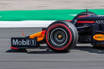 Un déflecteur de la Red Bull RB15