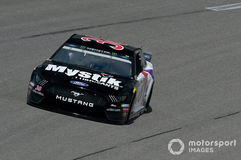 David Ragan Front Row Motorsports Ford Mustang Mystik Lubricants
