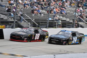 Gray Gaulding, SS Green Light Racing, Chevrolet Camaro and Ryan Sieg, RSS Racing, Chevrolet Camaro Larrys Hard Lemonade