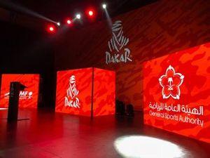 مؤتمر الصحافي في السعودية لرالي داكار 2020