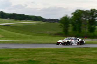#80, Acura NSX, Martin Barkey and Kyle Marcelli