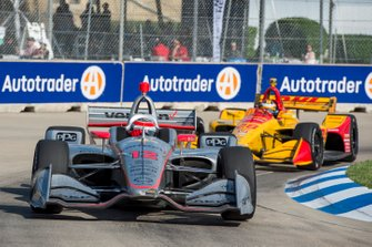 Will Power, Team Penske Chevrolet, Ryan Hunter-Reay, Andretti Autosport Honda