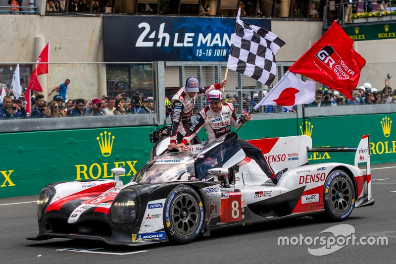 Campeão mundial do WEC - Vitória nas 24H de Le Mans
