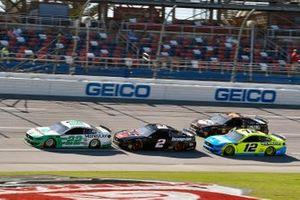 Joey Logano, Team Penske, Ford Mustang MoneyLion and Brad Keselowski, Team Penske, Ford Mustang Snap on