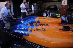McLaren technical detail