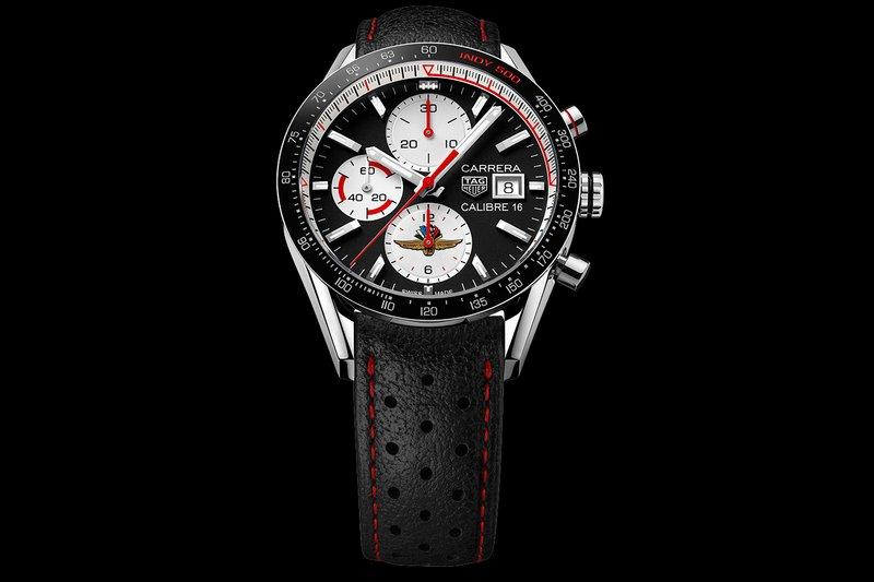 Une montre Indy 500 TAG-Heuer