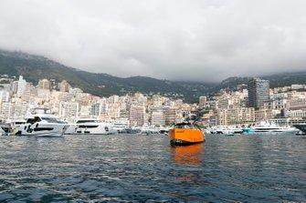McLaren branded boat
