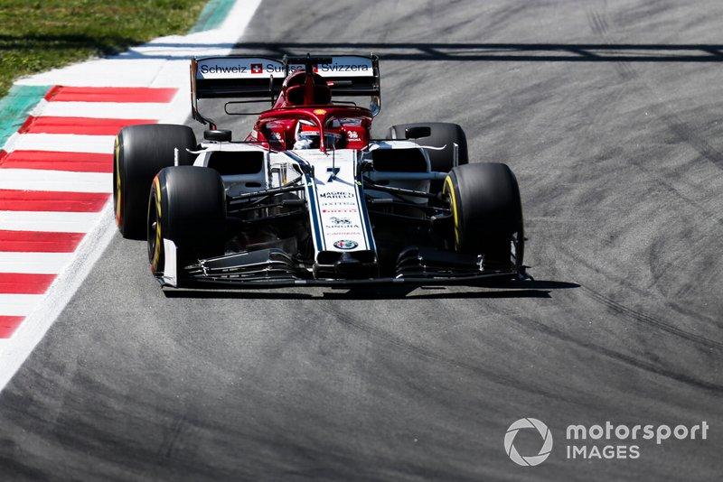 Kimi Raikkonen - 2 puntos de penalización