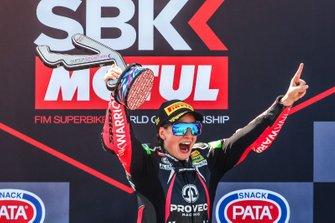 La vincitrice della gara Ana Carrasco, Kawasaki