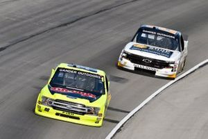 Matt Crafton, ThorSport Racing, Ford F-150 Chi-Chi's/Menards y Sheldon Creed, GMS Racing, Chevrolet Silverado Chevrolet Accessories