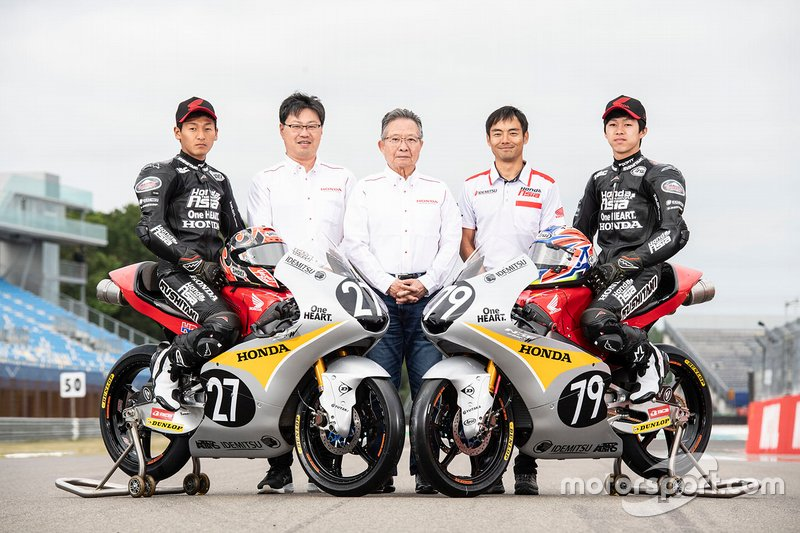Toba Kaito and Ai Ogura, Honda Team Asia