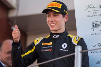 Podio: secondo posto Jack Aitken, Campos Racing