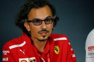 Laurent Mekies, Sporting Director, Ferrari, nella conferenza stampa dei team principals