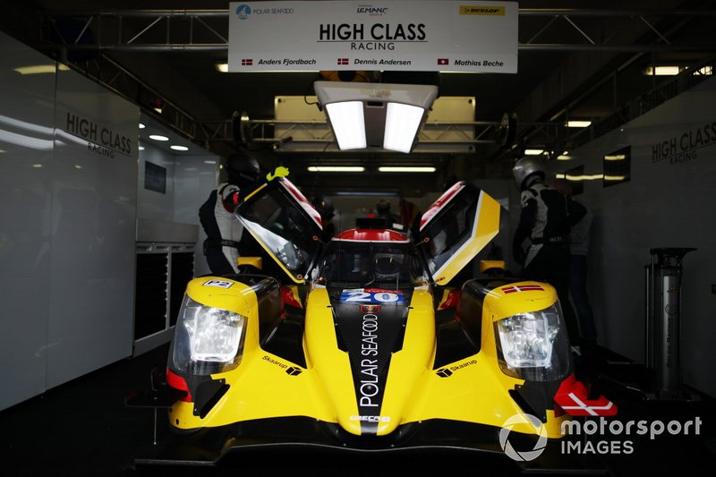 #20 High Class Racing Oreca 07: Anders Fjordbach, Dennis Andersen, Mathias Beche