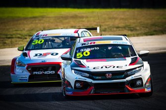Tony D'Alberto, Wall Racing Honda Civic Type R, Will Brown, HMO Customer Racing Hyundai i30 N TCR