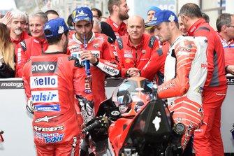 Андреа Довициозо и Данило Петруччи, Ducati Team, Джек Миллер, Alma Pramac Racing