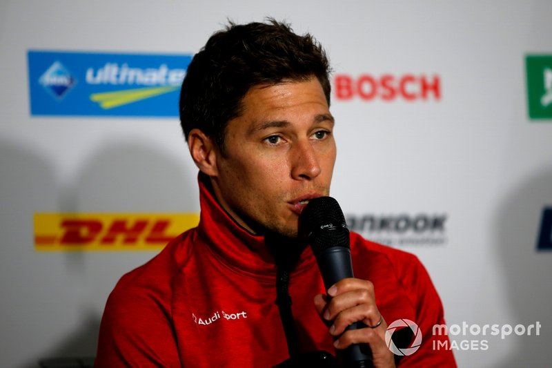 Press Conference, Loic Duval, Audi Sport Team Phoenix