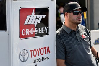 David Gilliland, Tyler Ankrum, DGR-Crosley, Toyota Tundra May's Hawaii
