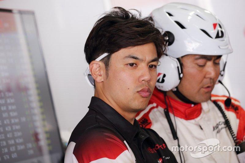 中山友貴(#31 TOYOTA GR SPORT PRIUS PHV apr GT)