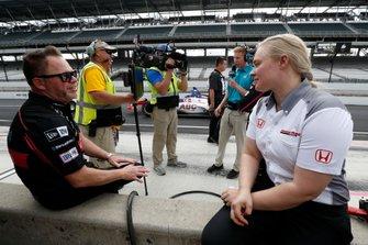 Michael Shank, Meyer Shank Racing with Arrow SPM Honda, Honda Engineer