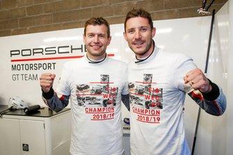 Worldchampions#92 Porsche GT Team Porsche 911 RSR: Michael Christensen, Kevin Estre
