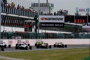 La partenza della gara