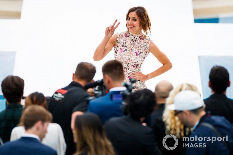 Noemi De Miguel , Amber Lounge moda şovu