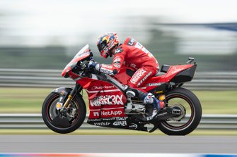 Andrea Dovizioso, Ducati Team, practice start