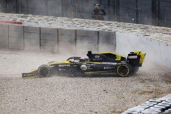 Авария: Даниэль Риккардо, Renault Sport F1 Team R.S.19